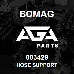 003429 Bomag Hose support | AGA Parts