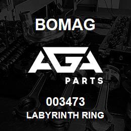 003473 Bomag Labyrinth ring | AGA Parts