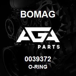 0039372 Bomag O-ring | AGA Parts
