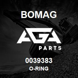0039383 Bomag O-ring | AGA Parts