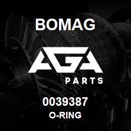 0039387 Bomag O-ring | AGA Parts