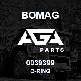 0039399 Bomag O-ring   AGA Parts