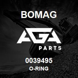 0039495 Bomag O-ring | AGA Parts