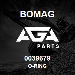 0039679 Bomag O-ring | AGA Parts