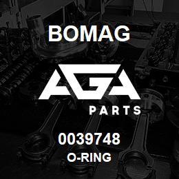 0039748 Bomag O-ring | AGA Parts