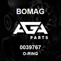 0039767 Bomag O-ring | AGA Parts
