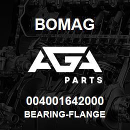 004001642000 Bomag BEARING-FLANGE | AGA Parts