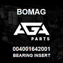 004001642001 Bomag BEARING INSERT | AGA Parts