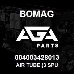 004003428013 Bomag AIR TUBE (3 SPU | AGA Parts