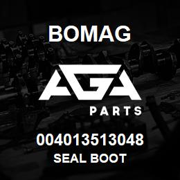 004013513048 Bomag SEAL BOOT | AGA Parts