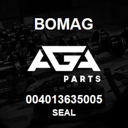 004013635005 Bomag SEAL   AGA Parts
