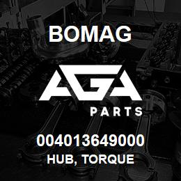 004013649000 Bomag HUB, TORQUE | AGA Parts