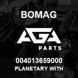 004013659000 Bomag PLANETARY WITH | AGA Parts