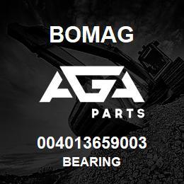004013659003 Bomag BEARING | AGA Parts