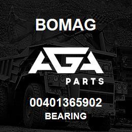 00401365902 Bomag BEARING | AGA Parts