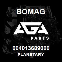004013689000 Bomag PLANETARY   AGA Parts