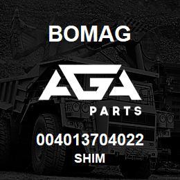 004013704022 Bomag SHIM | AGA Parts