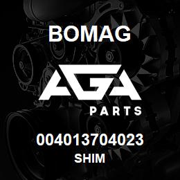 004013704023 Bomag SHIM | AGA Parts