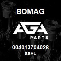 004013704028 Bomag SEAL | AGA Parts