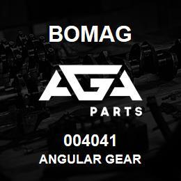 004041 Bomag Angular gear   AGA Parts
