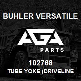 102768 Buhler Versatile TUBE YOKE (DRIVELINE - L4WD) | AGA Parts