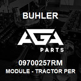 09700257RM Buhler MODULE - TRACTOR PERFORMANCE, PhaseC L4wd | AGA Parts