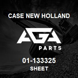 01-133325 Case New Holland SHEET | AGA Parts