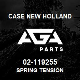 02-119255 Case New Holland SPRING TENSION | AGA Parts