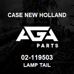 02-119503 Case New Holland LAMP TAIL | AGA Parts