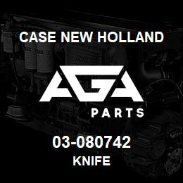 03-080742 Case New Holland KNIFE | AGA Parts