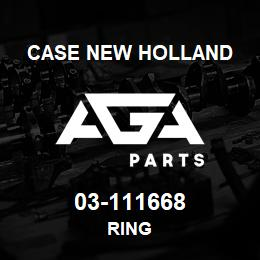 03-111668 Case New Holland RING | AGA Parts