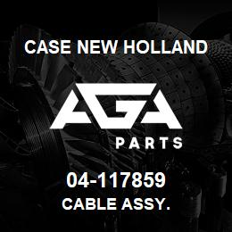 04-117859 Case New Holland CABLE ASSY. | AGA Parts