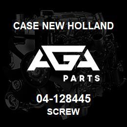 04-128445 Case New Holland SCREW   AGA Parts
