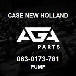 063-0173-781 Case New Holland PUMP | AGA Parts
