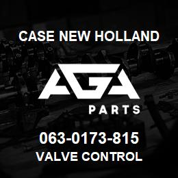 063-0173-815 Case New Holland VALVE CONTROL | AGA Parts