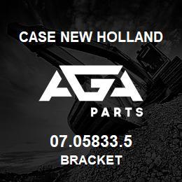 07.05833.5 Case New Holland BRACKET   AGA Parts