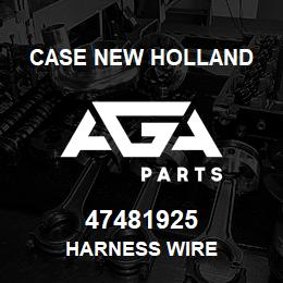 47481925 CNH Industrial HARNESS WIRE | AGA Parts