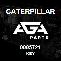 0005721 Caterpillar KEY | AGA Parts