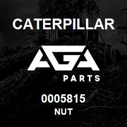 0005815 Caterpillar NUT | AGA Parts