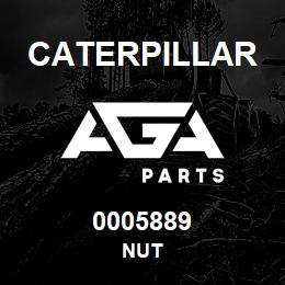 0005889 Caterpillar NUT | AGA Parts