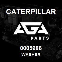 0005986 Caterpillar WASHER | AGA Parts