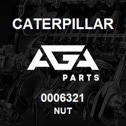 0006321 Caterpillar NUT | AGA Parts