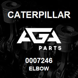 0007246 Caterpillar ELBOW | AGA Parts