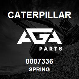 0007336 Caterpillar SPRING | AGA Parts