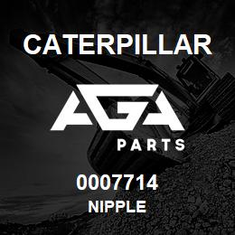 0007714 Caterpillar NIPPLE | AGA Parts