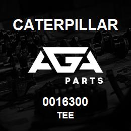 0016300 Caterpillar TEE | AGA Parts