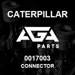 0017003 Caterpillar CONNECTOR | AGA Parts