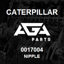0017004 Caterpillar NIPPLE | AGA Parts