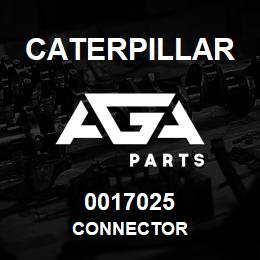 0017025 Caterpillar CONNECTOR   AGA Parts