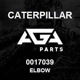 0017039 Caterpillar ELBOW | AGA Parts